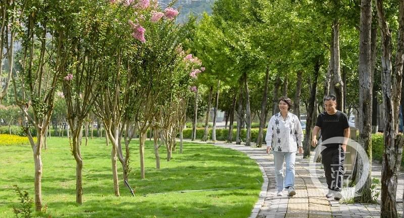 """推倒56公里""""遮丑墙"""" 两江新区为市民新增37万方公共绿地"""
