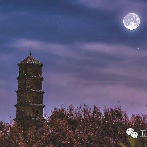 太美了!今晚,五莲这几处最佳赏月地千万别错过!