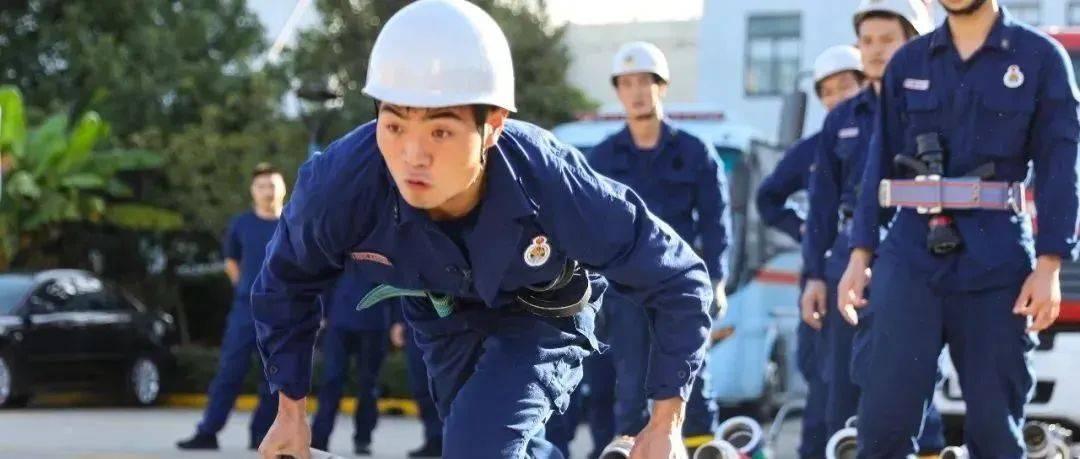 百炼成钢 促精兵丨青浦消防实战技能比武训练纪实
