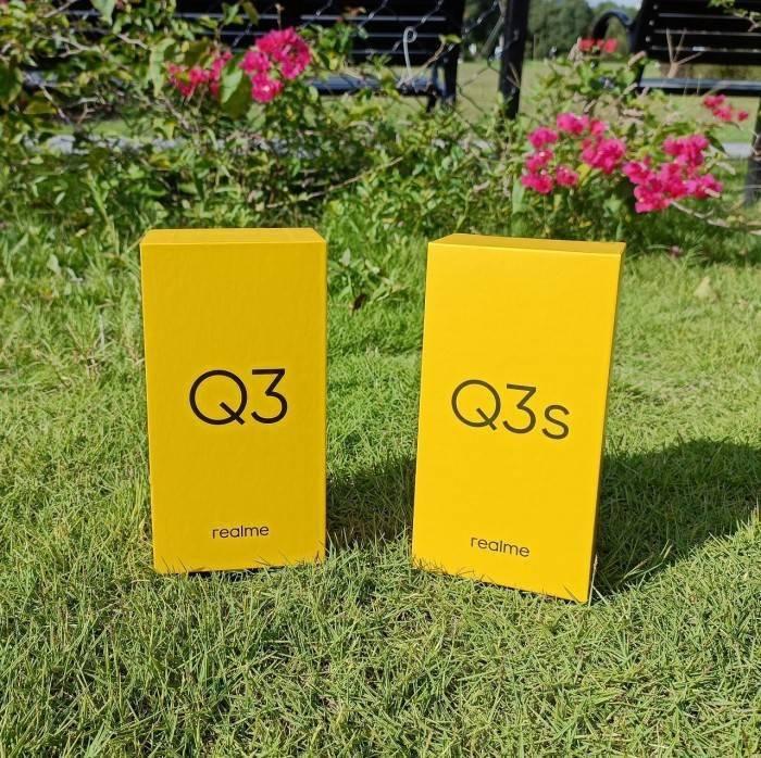 千元顏值實力派:Realme Q3s星云版開箱上手
