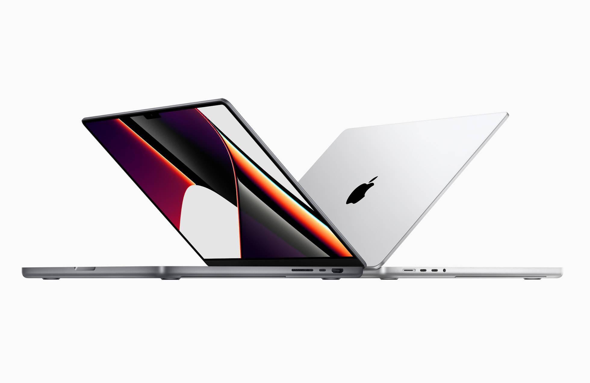 強者的強 劉海屏幕和回歸實體按鍵的MacBook Pro來