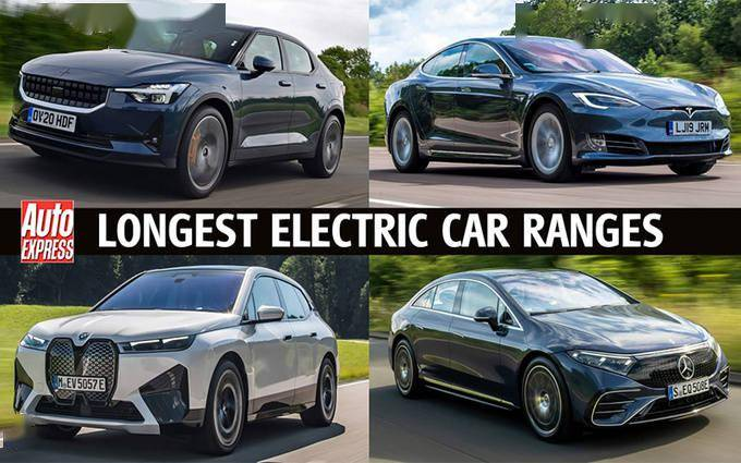 2021年续航最长的电动车排名!冠亚军都在奔驰vcg