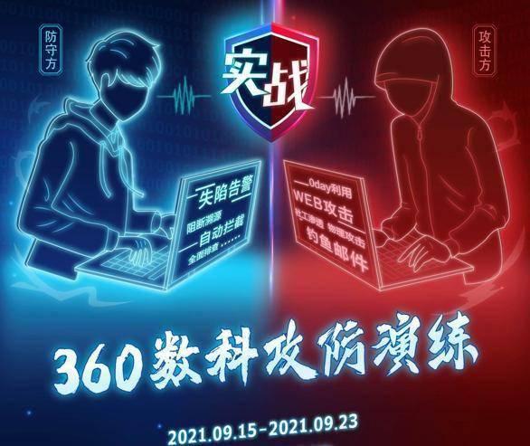 360数科首次网络攻防演练成果公布:清除安全隐患177个
